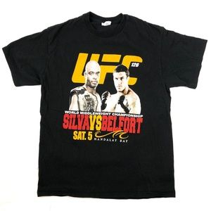 UFC 126 Silva Belfort Las Vegas Fight Graphic Tee